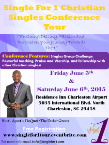 Single For 1 Conference Flyer